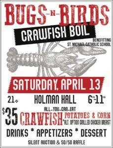 Crawfish Boil @ Holman Hall