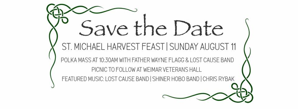 St. Michael Harvest Feast @ Weimar Veterans Memorial Hall