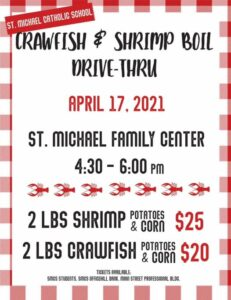 Crawfish Boil @ St. Michael Family Center