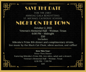 Night on the Town @ Weimar Veterans Hall